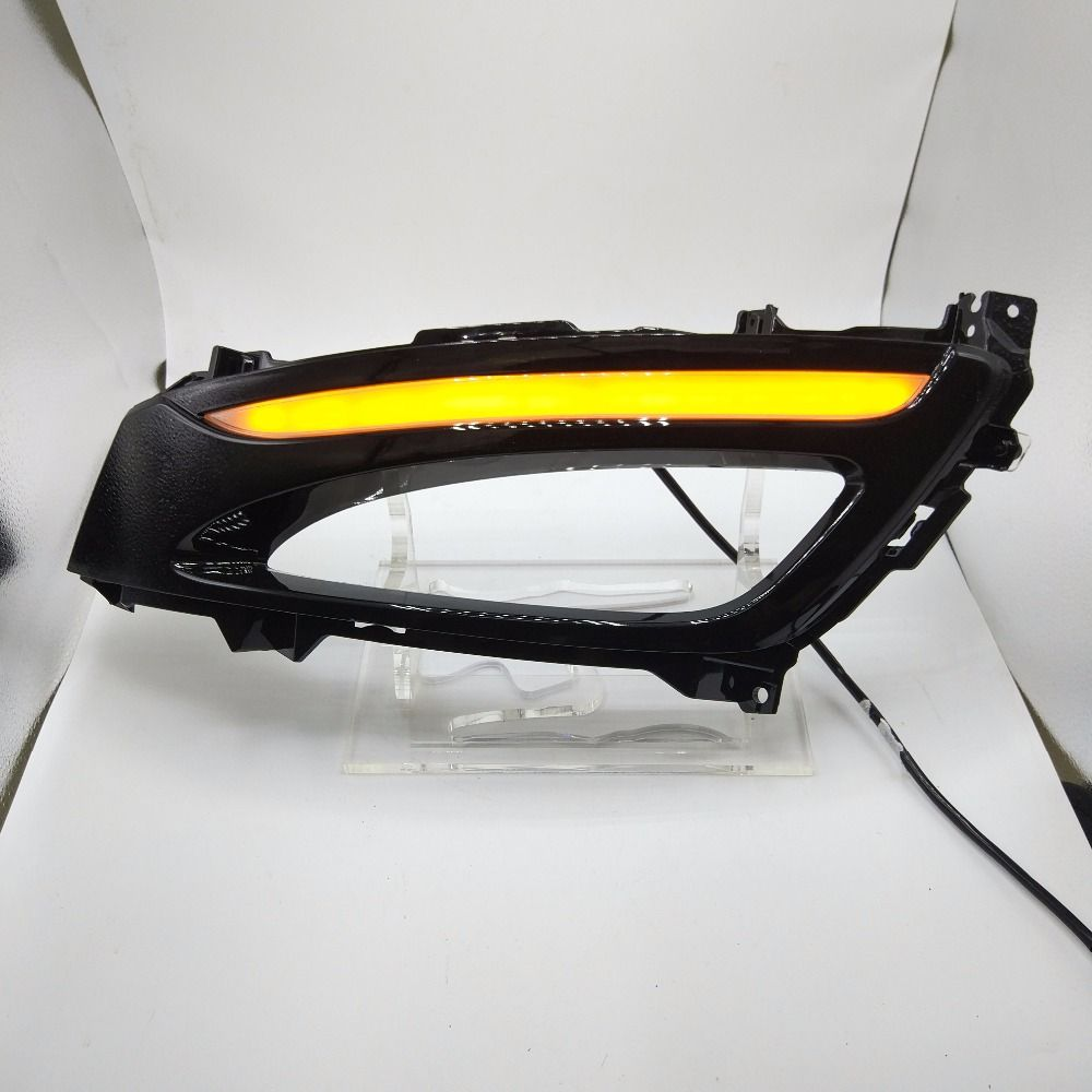 Car Styling for Kia K5 DRL 2011-2013 Optima LED DRL LED Running Light Fog Light with turn signal function Parking Accessories