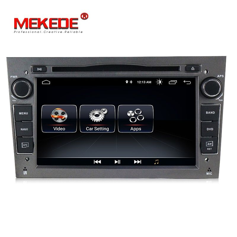 2DIN Android8.0 HD screen 1024*600 Car multimedia player for Opel Astra Vectra Antara Zafira Corsa with radio gps dvd player