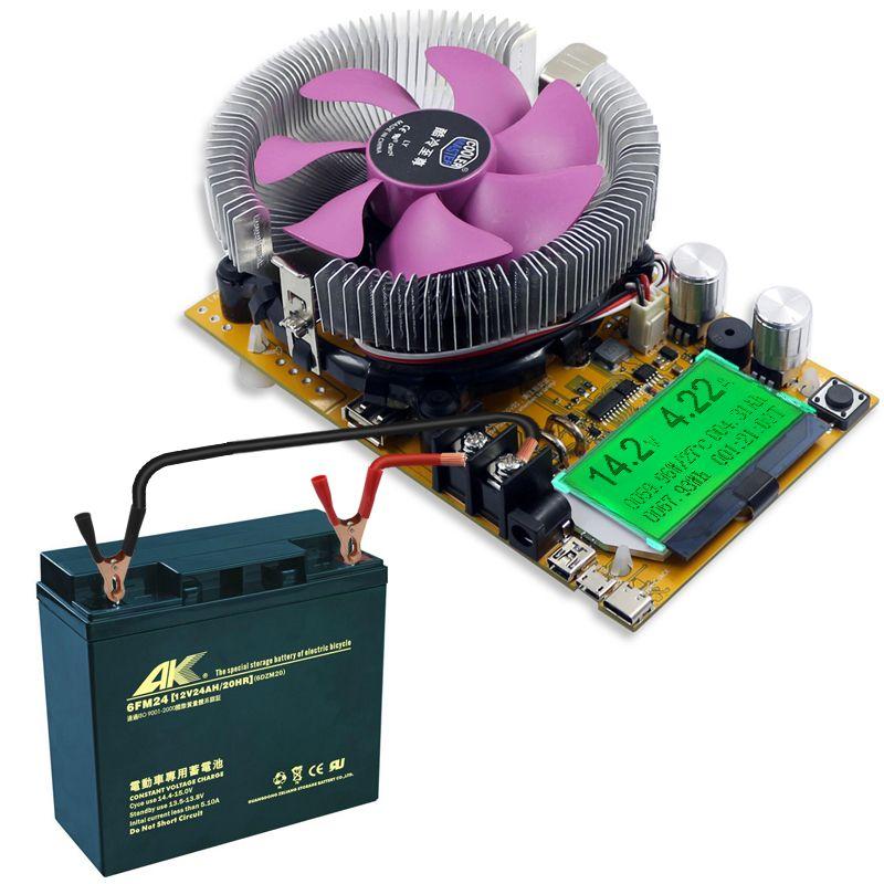 150W adjustable Constant Current Electronic Load Battery Tester 12V24V48V Lead-acid lithium Discharge Capacity meter 200V/20A