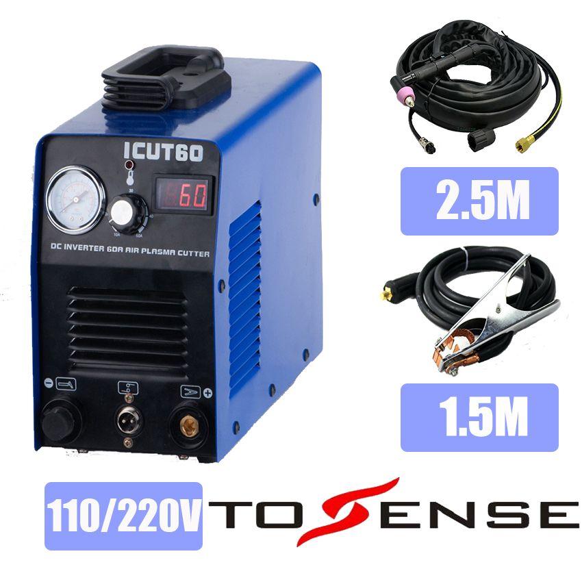 60 Ampere plasma cutter, plasma-schneidemaschine, schweißer begleiter, wechselrichter DC, ICUT60