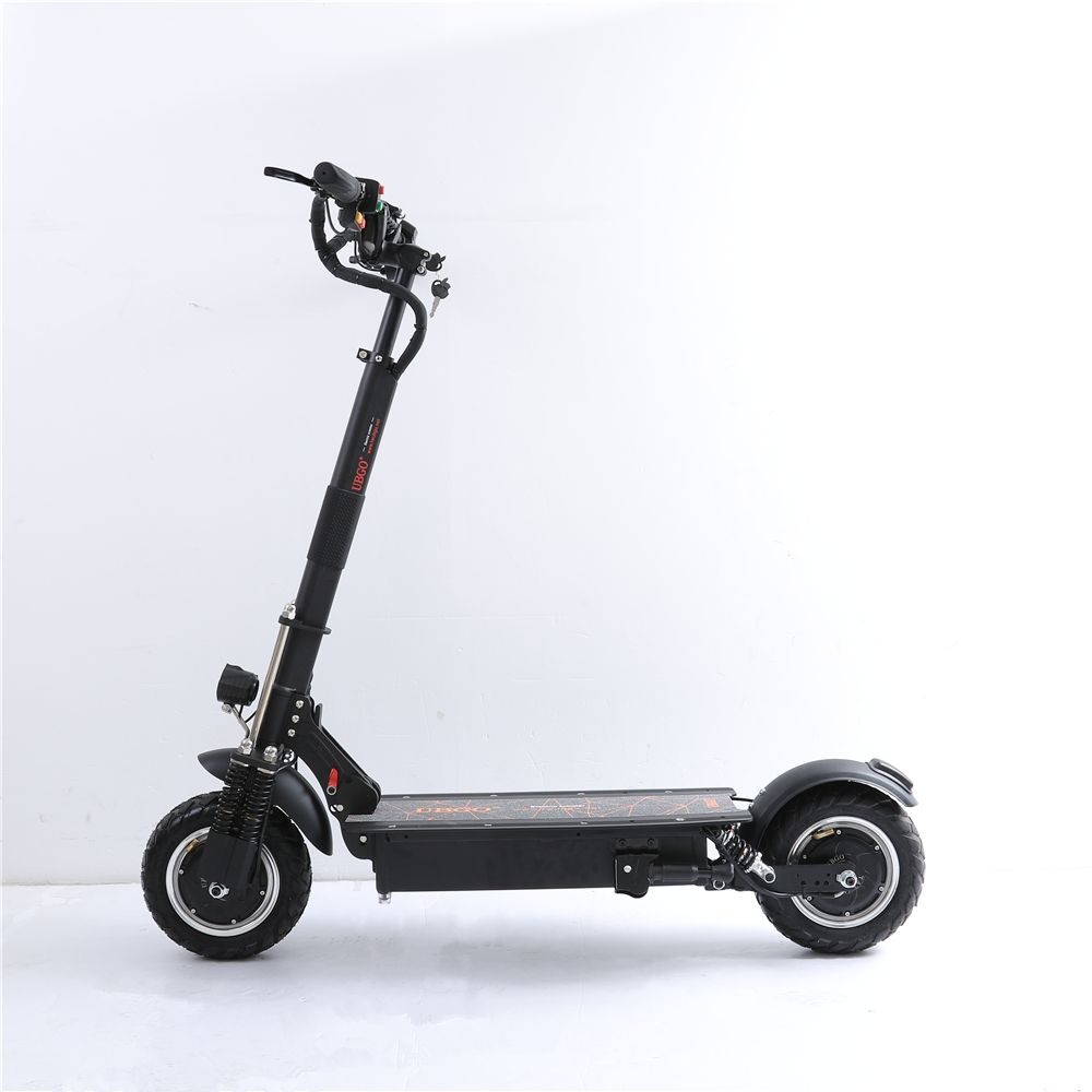 UBGO 1005+ Vacuum Tire Motor 60V/52V Double Drive 2000W motor powerful electric scooter 10inch E-Scooter with Oil Brake