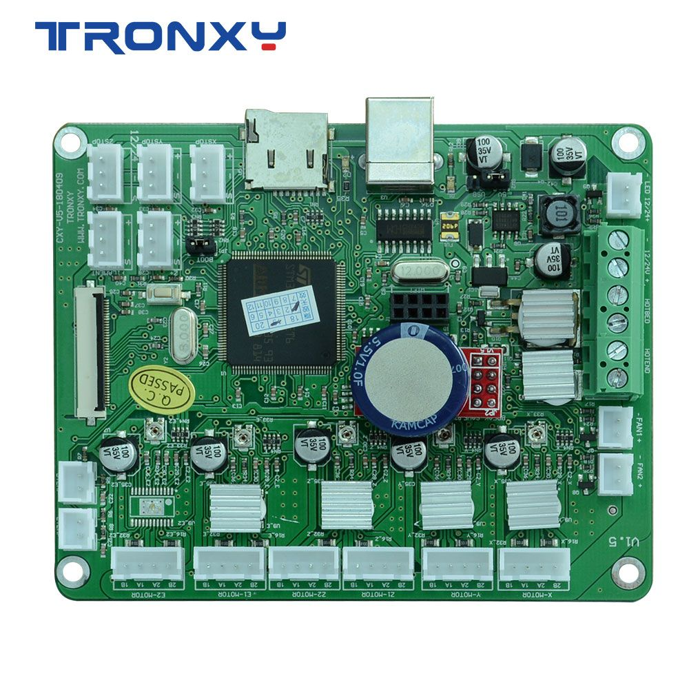 TRONXY 3d drucker X5S serie mainboard SD card LCD display bildschirm 110*90*28