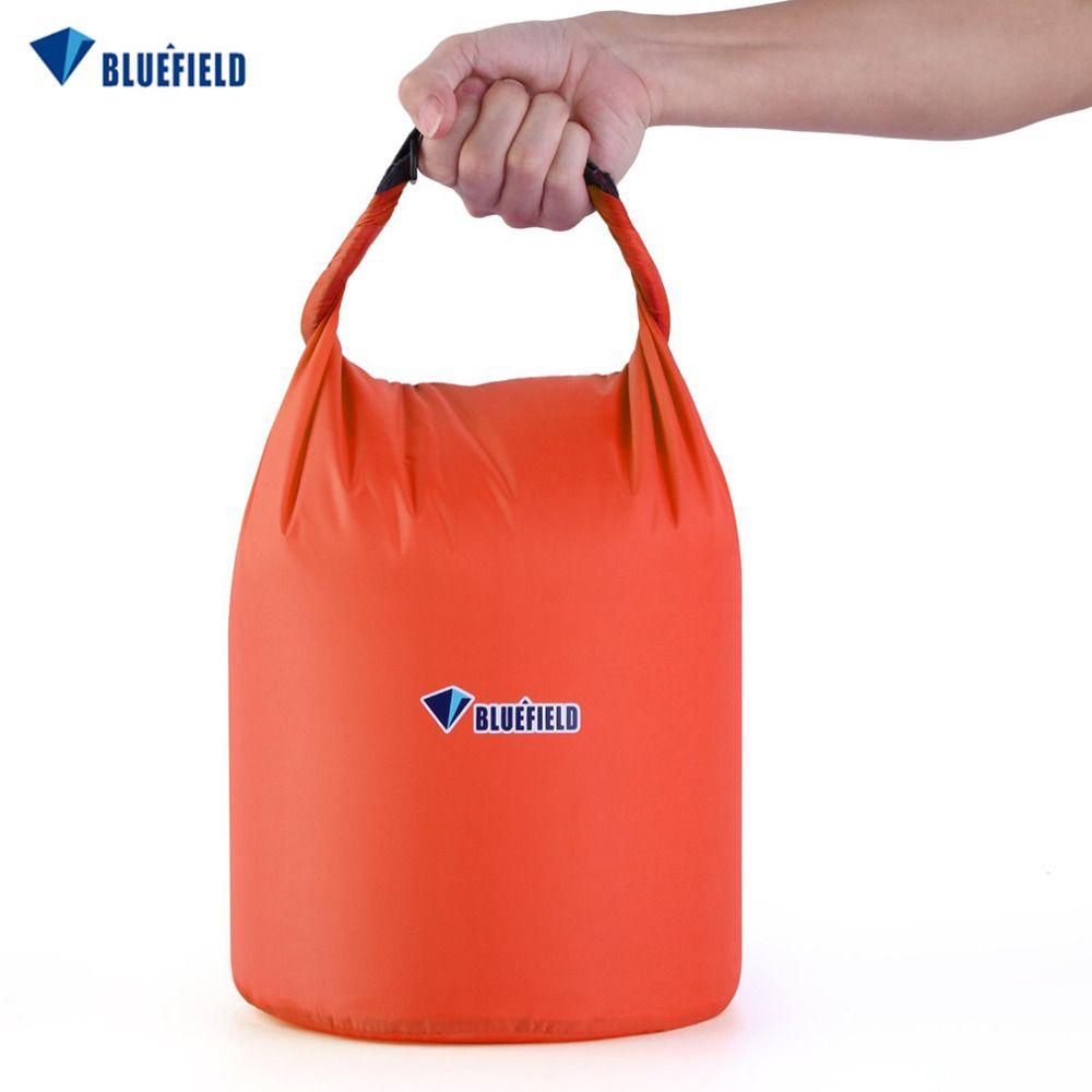 BLUEFIELD 10L/20L freibad Wasserdicht Tasche Camping Rafting Lagerung Trocken Tasche mit Ajustable Strap Haken kostenloser versand