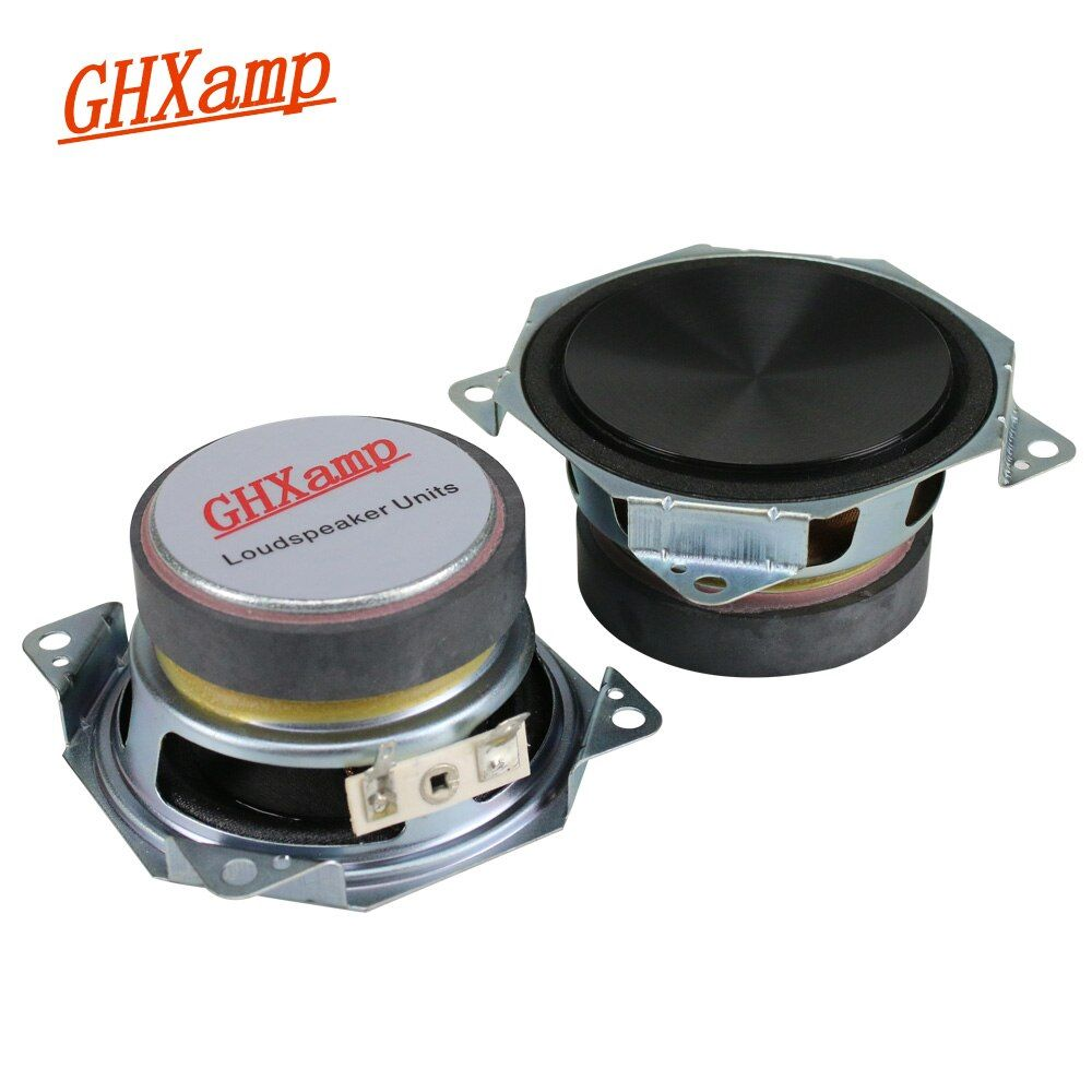 GHXAPM 3 pouces Gamme Complète Haut-Parleur De Voiture Mediant Haut-Parleur Home Cinéma Audio Haut-parleurs 8OHM 25 W 2 pcs