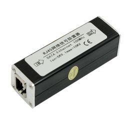 GTFS Hot RJ45 Plug Ethernet Network Surge Protector Thunder Arrester 100MHz