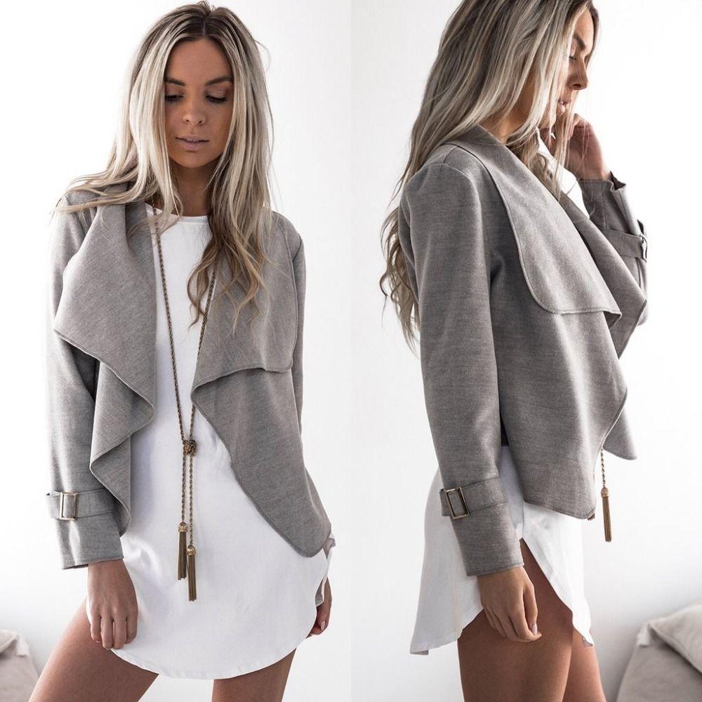 Europa Dame Kleidung Für Frauen Kleid Installiert Neue Wintermantel Revers Woll Mode Mantel Kleid Kleine Beiläufige Partei Kleidet Frau