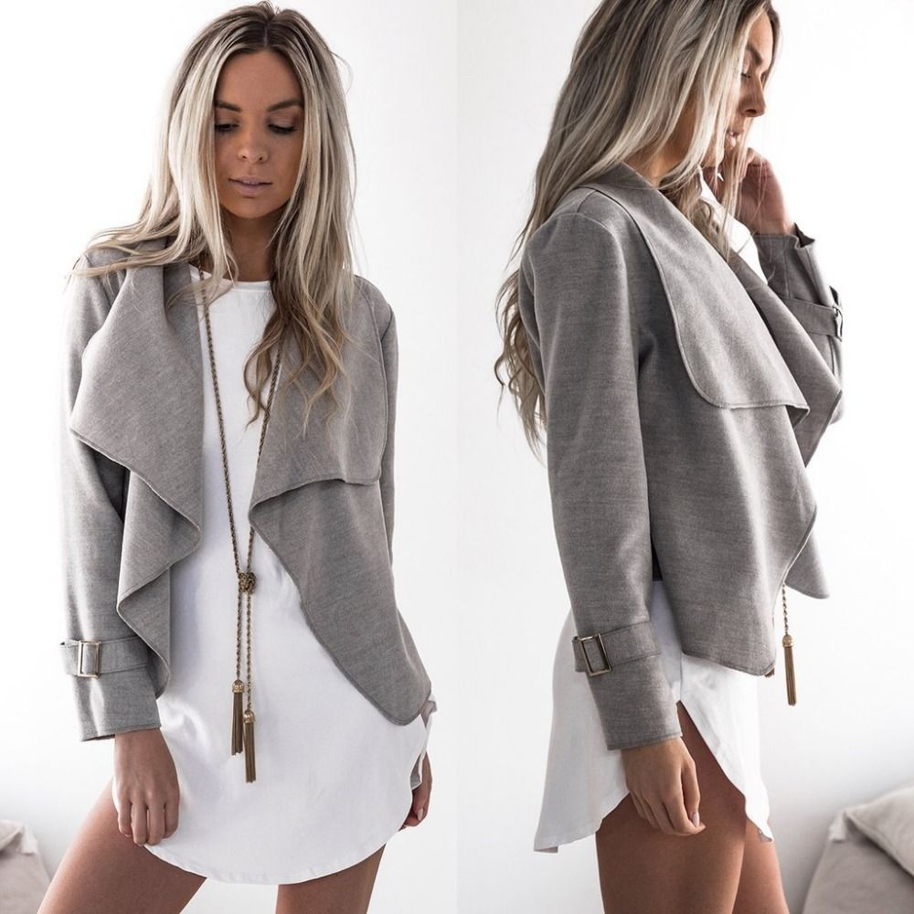 Europe Lady Clothes For Women Frock Installed New Winter Coat Lapel Woolen Fashion Coat Dress Small Casual Party Clothes Woman