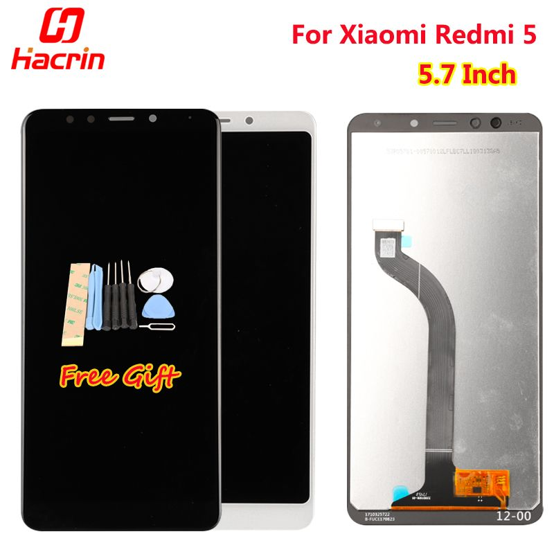 For Xiaomi Redmi 5 LCD Display +Touch Screen 5.7 Inch Test well New Digitizer Assembly Replacement Screen For Xiaomi Redmi 7