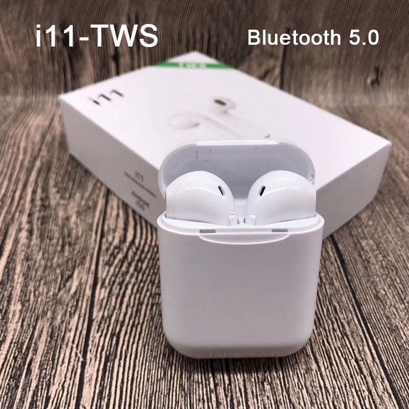 New i11 tws Bluetooth Earphones Stereo i9s tws V5.0 Headphones Sports Wireless Headset i7s tws Earbuds for All Smart Phone