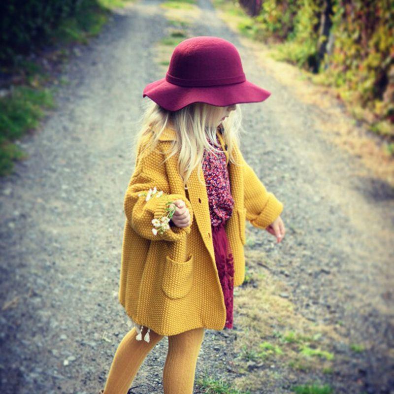 Шерсть девушки свитера кардиган пальто 3-8Y девушки кардиган для девочек марка 2016 зима Водолазки кардиган для детей дети свитер кардиган для ...