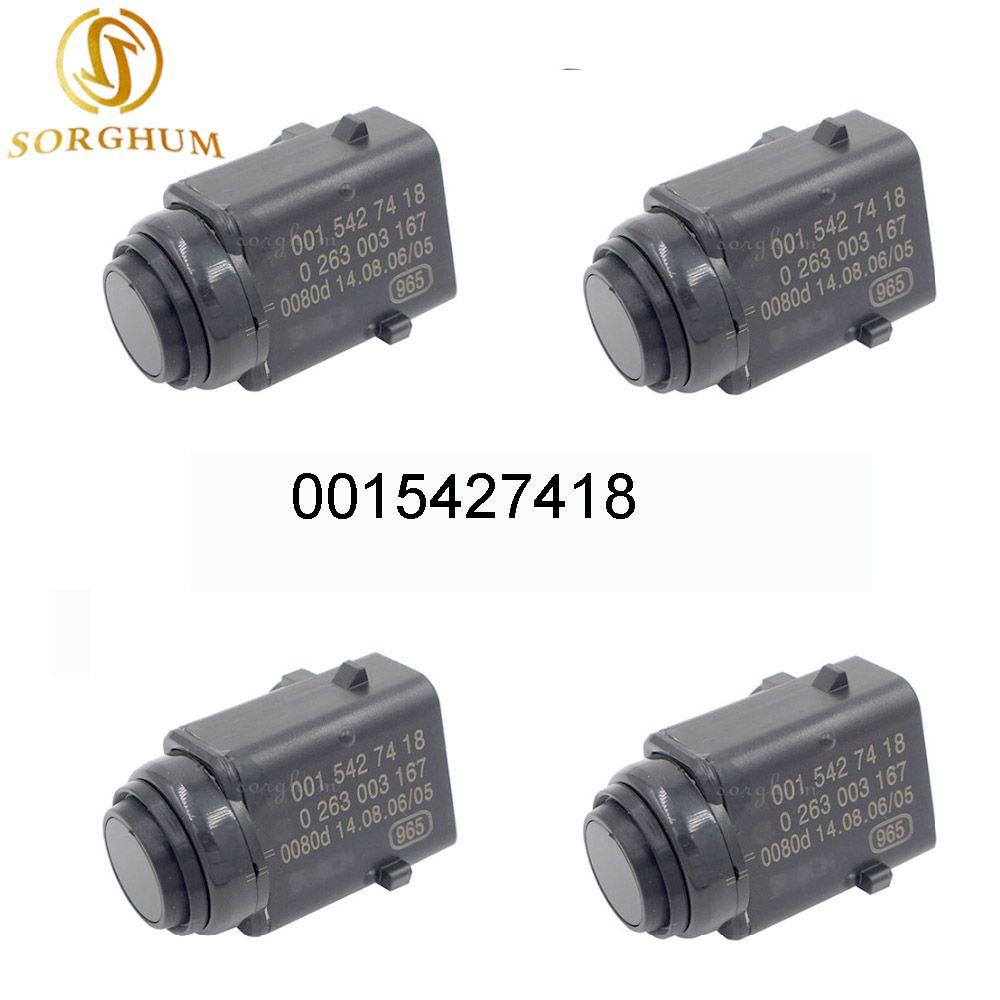 4 pièces DE Stationnement PDC Capteur De Distance 0015427418 Pour Mercedes-benz W203 W209 W210 W211 W220 W163