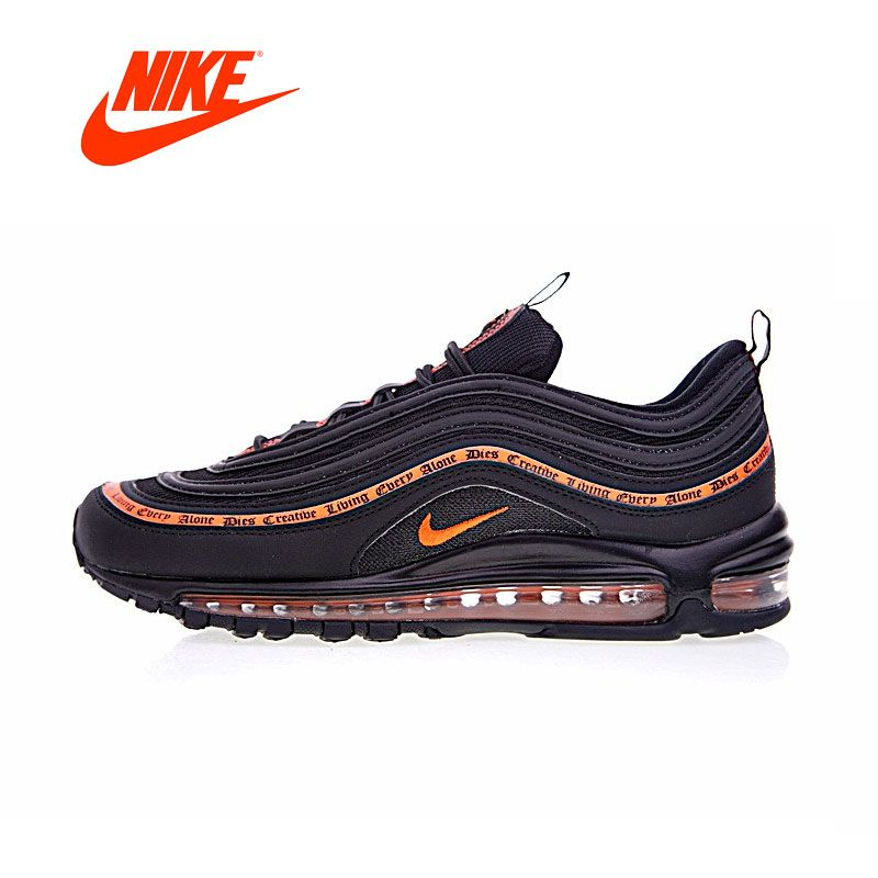 Original New Arrival Authentic Nike Vlone Air Max 97 OG Mens Running Shoes Sneakers Sport Outdoor Good Quality Breathable