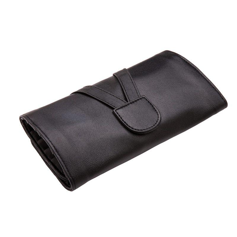 Haute qualité 24/18/12/10 fentes pinceaux de maquillage sac valise à cosmétiques pour maquillage brosses protecteur voyage organisateur pochette roulante