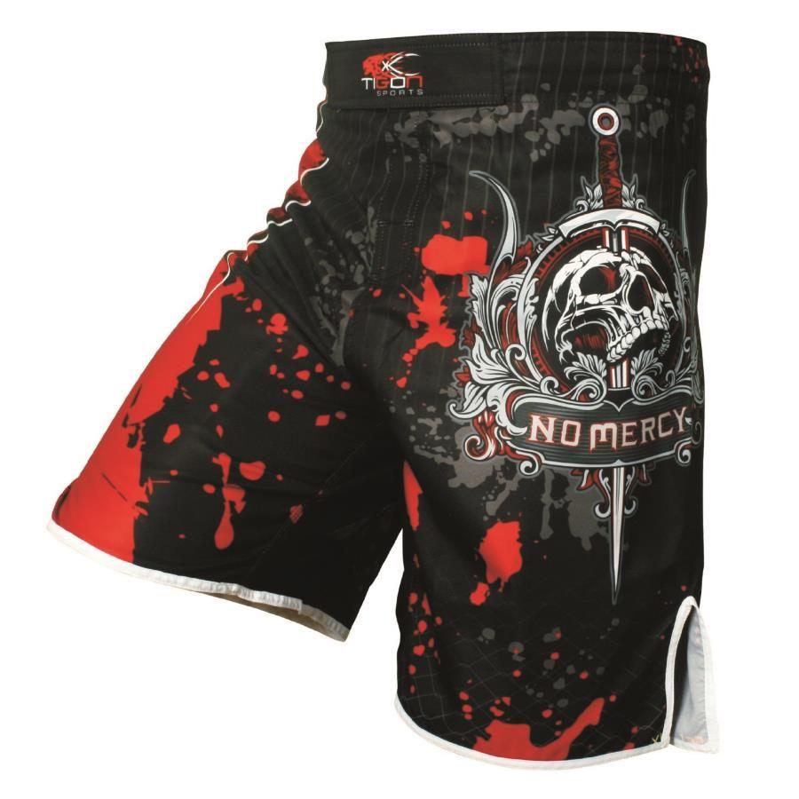 Hommes de boxe pantalon impression MMA Shorts Lutte Grappling Court Polyester Coup Gel De Boxe Muay Thai Pantalon thai shorts de boxe mma