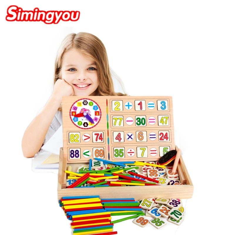 Simingyou Montessori Wooden Toys Educational Baby Montessori Materials Math Toys Children Educative Toys Drop Shipping