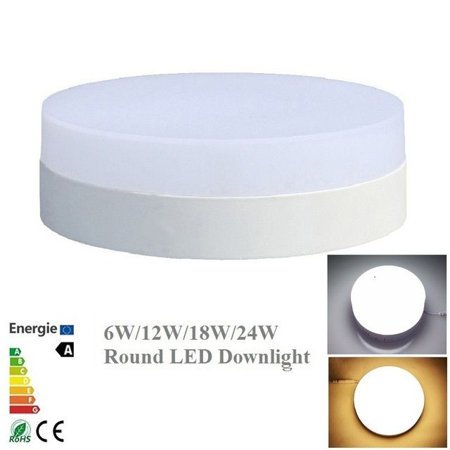 Led Panel Surface Mounted Downlight Led 24W Led Modern Round Ceiling Panel Lights Square Panel Light Fixture For Living Room