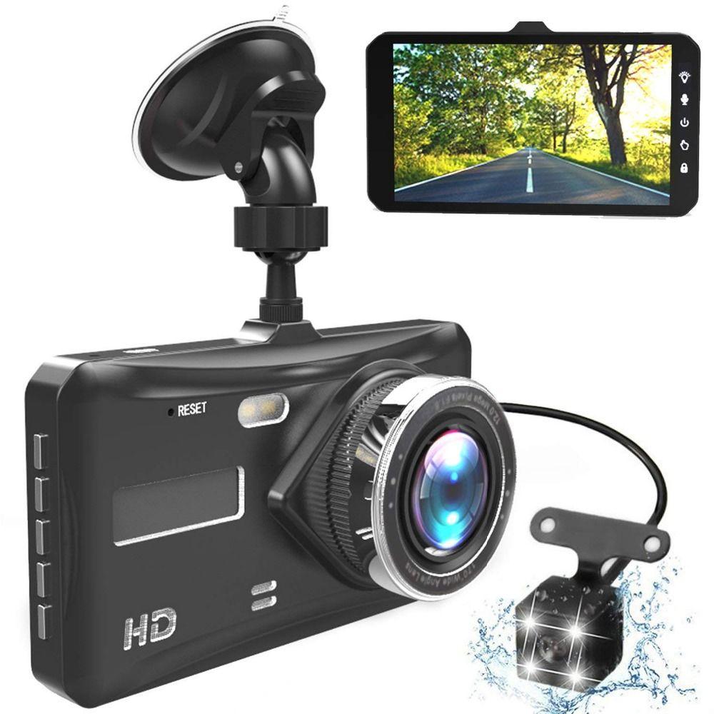 Dash Cam Dual Lens Full HD 1080P 4