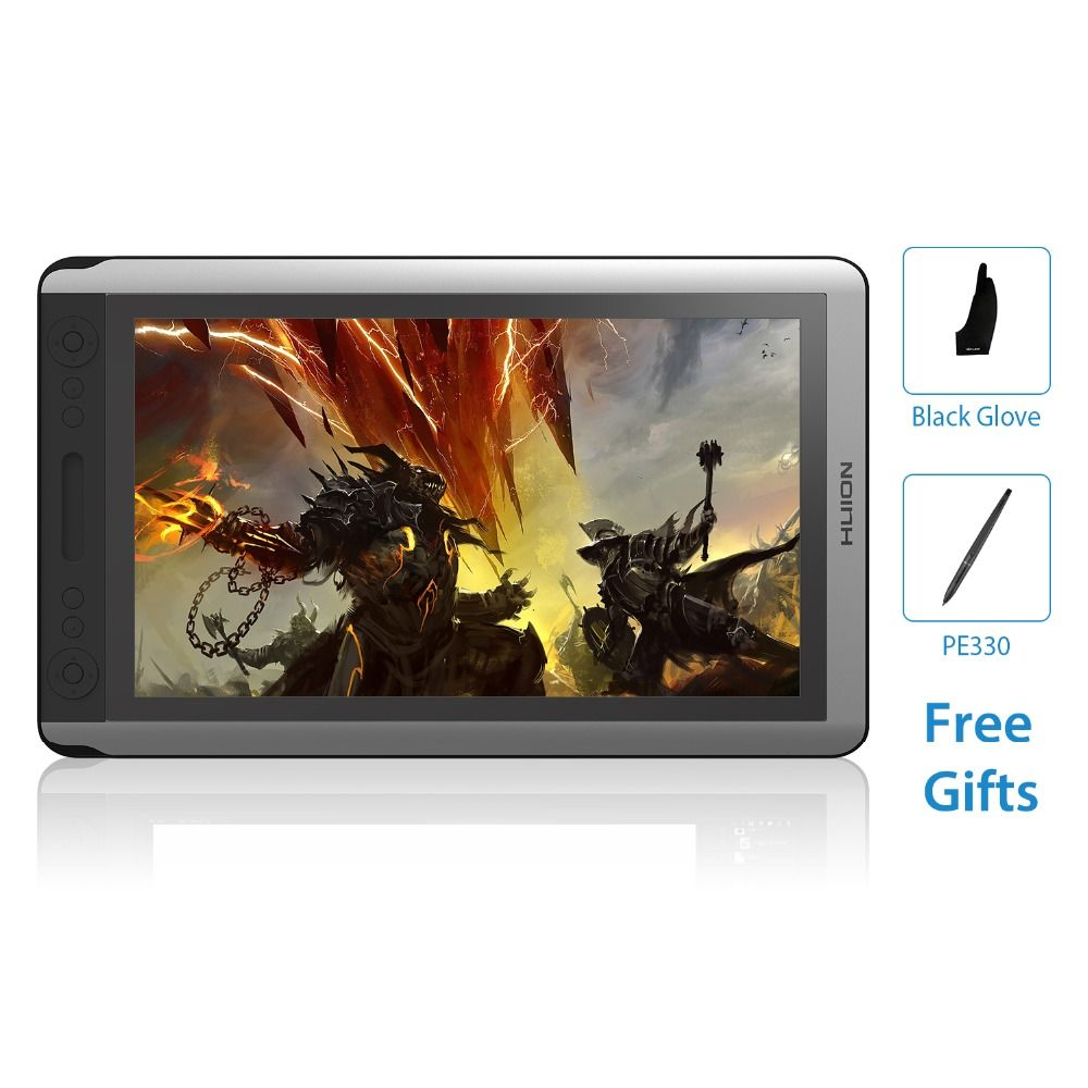 HUION KAMVAS GT-156HD V2 15.6Inch IPS Pen Tablet Monitor Digital Graphics Drawing Display Monitor LCD with 8192 Levels and Gift