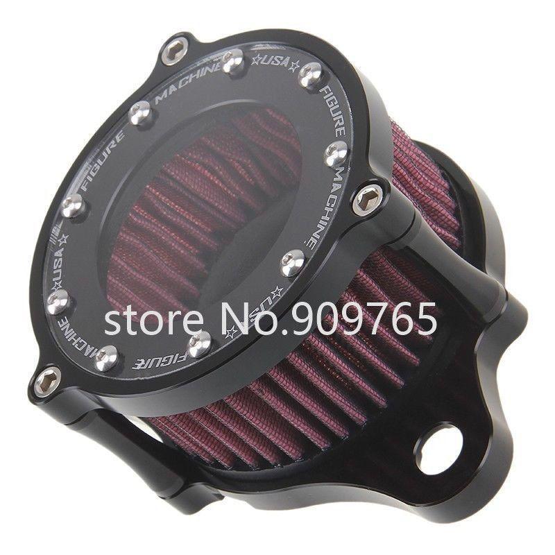 Воздухоочиститель воздушного фильтра Системы комплект для Harley Sportster XL 883 1200 1991-2016