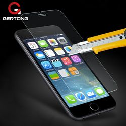 GerTong 2.5D Clair En Verre Trempé pour iPhone 7 8 6 S 6 S 5 5S SE 5C 4 4S Écran Protecteur pour iPhone 7 8 6 6 s Plus Trempé Film