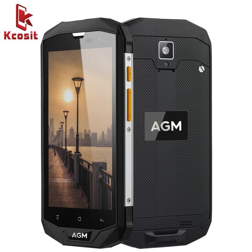 Оригинал AGM A8 SE IP68 Водонепроницаемый мобильный телефон 5.0