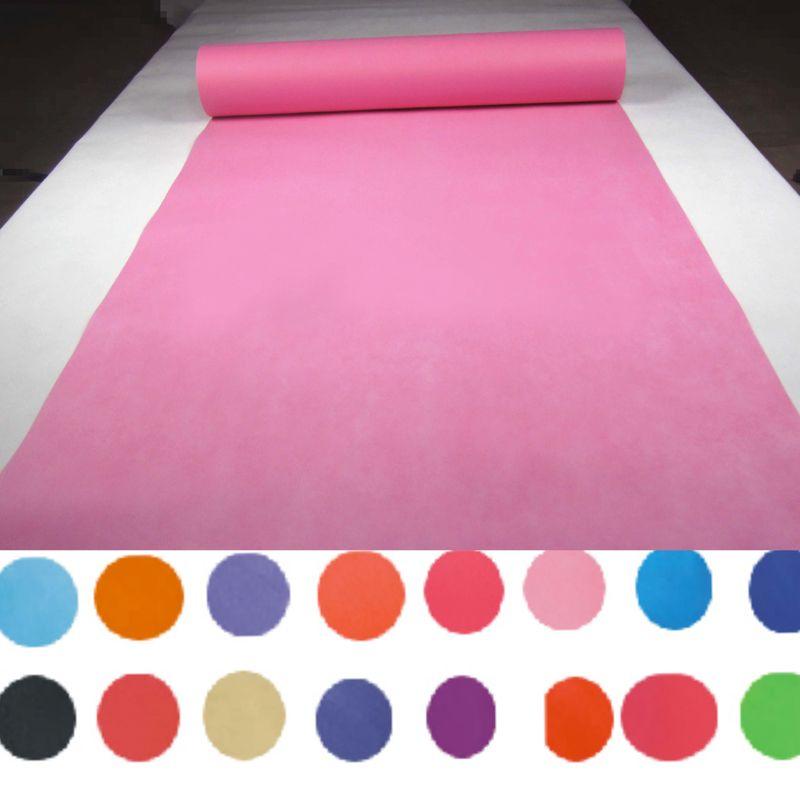 Colorful Wedding Carpet Runner Decoration Princess Party Decor 80cm width/ 20m long/Nonwoven