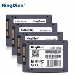 SSD SATA3 2.5 pouce 60 GB 120G 240 GB 480G Disque Dur Disque HD HDD usine directement KingDian marque