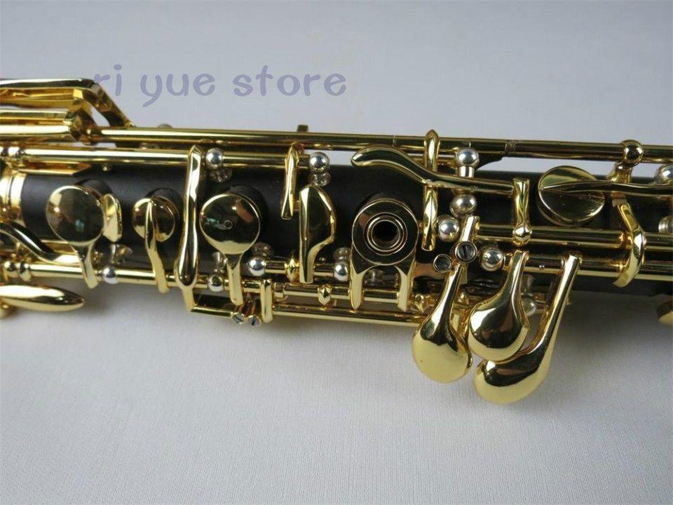 Professional ebony concert semiautomatic oboe C key full conservatory