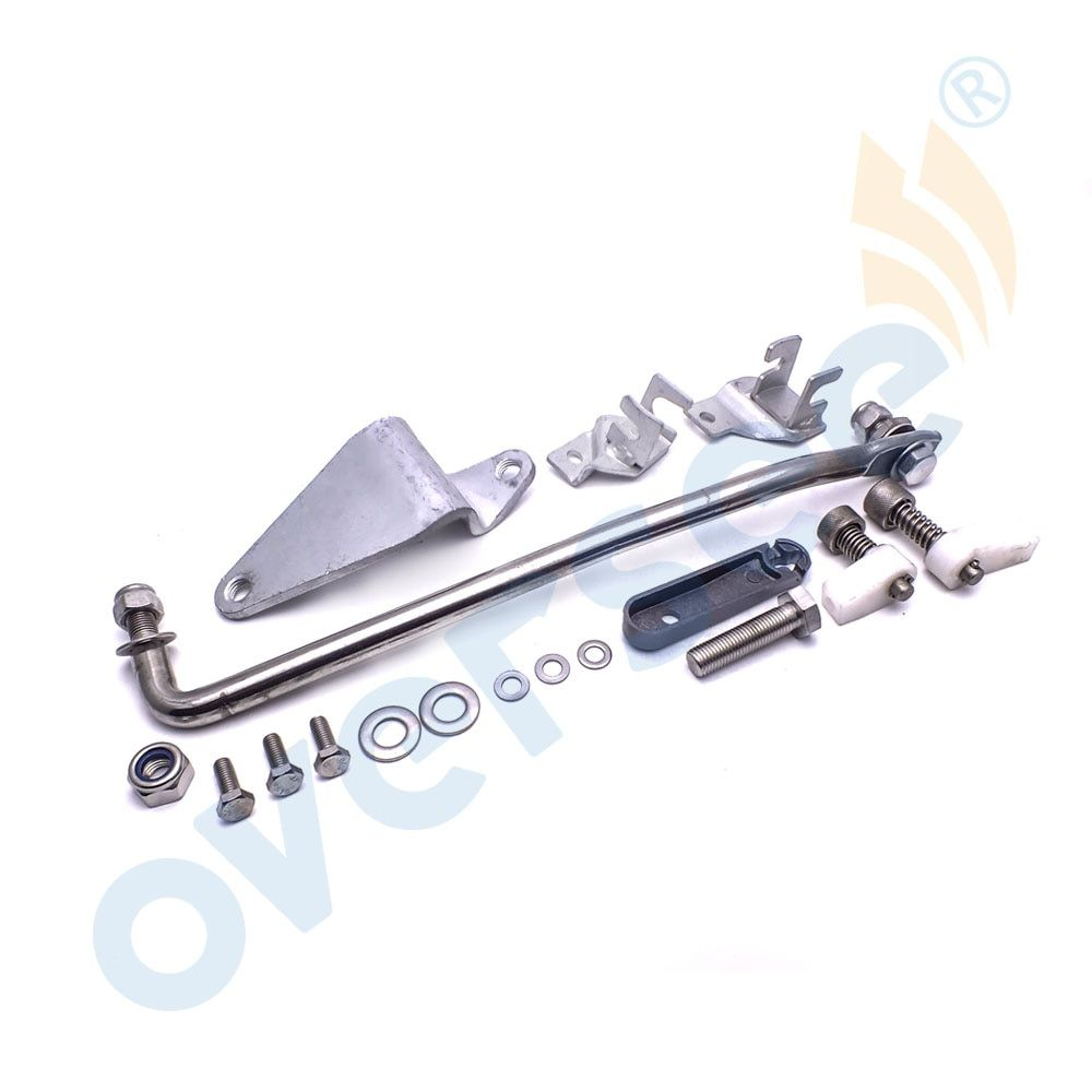 689-48501 Remote Control Attachment Kit Replaces For Yamaha Parsun 25HP 30HP 2 Stroke Outboard Motor 61N 69P 69S