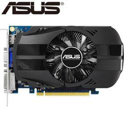 ASUS видео карта оригинальный GTX650 2 ГБ 128bit GDDR5 Видеокарты для NVIDIA GeForce GTX 650 HDMI DVI использовать карты VGA распродажа