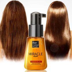Morocco Argan Oil Hair Care Essence Nourishing Repair Damaged Improve Split Hair Rough Remove Greasy Treatment Hair Care