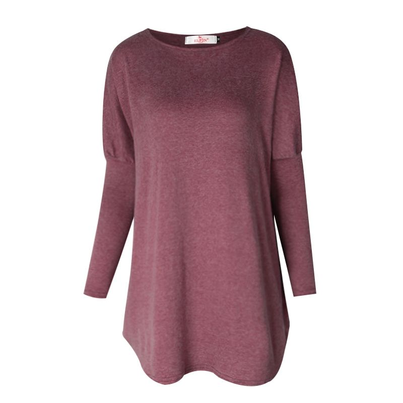 Sweater Tops Women 2018 Autumn Winter Long Sleeve Plus Size Pullovers Elegant Women Loose Female Sweater Clothing WS1401Y