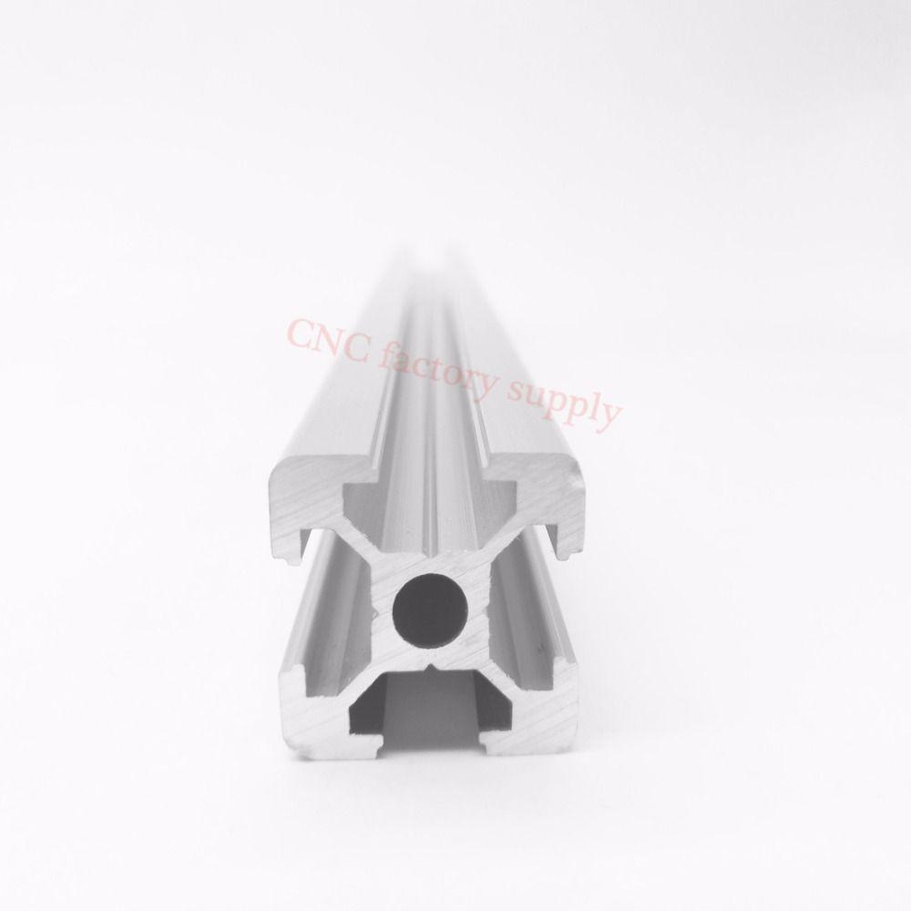 HOT Sale CNC 3D Printer Parts European Standard Anodized  Linear Rail Aluminum Profile Extrusion 2020 for DIY 3D printer