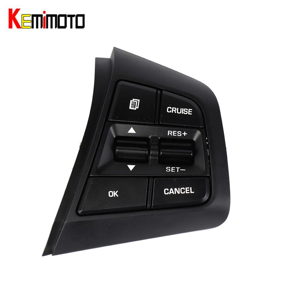 KEMiMOTO 1 Piece 96710C9000 For Hyundai creta ix25 2.0L Steering Wheel Cruise Control Buttons On Right Side 96710-C9000