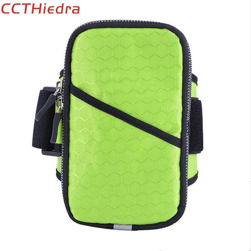 CCTHiedra Brand Waterproof Sport Armband Gym Activities Running Fitness Universal Phone Pouch Cover Arm Band Mobile Wallet Cases