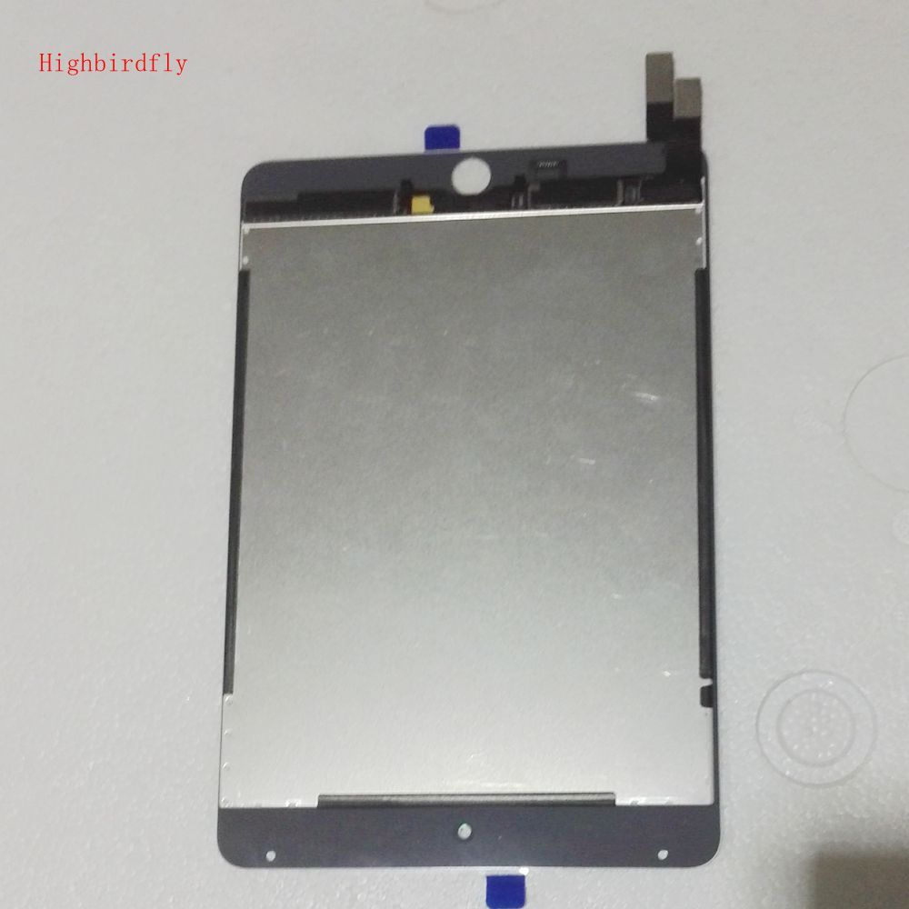 Highbirdfly For Ipad mini 4 A1538 A1550 Lcd Screen Display+Touch Glass DIgitizer Together Full Set