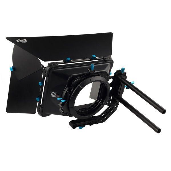 FOTGA DP3000 Pro DSLR swing away mat boîte parasol avec beignets pour DSLR 5 DIII 1DS F55 F3 A7S C300 C100 BMCC 15mm tige plate-forme