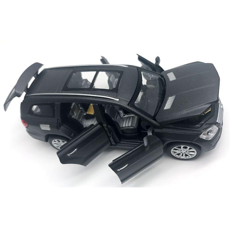 1:32 GL500 Car Simulación Modelo de 6 Puertas se Pueden Abrir niños Tire Hacia Atrás Diecast Metal Mate Vehículos Acústico-óptica de Aleación de Coche juguetes