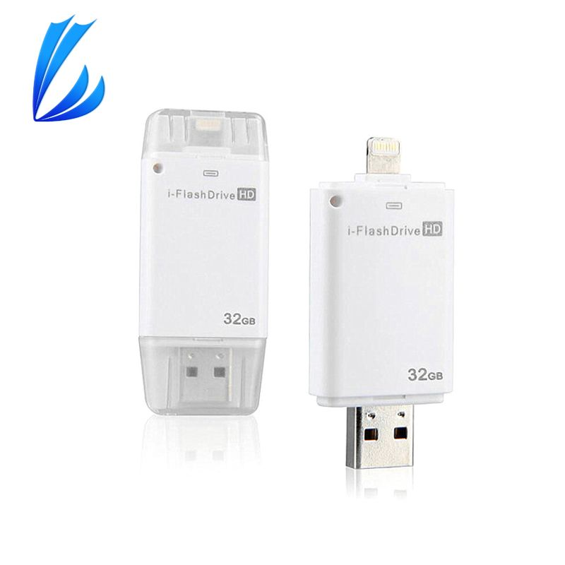 LL TRADER USB Flash Drive 64g OTG Pen Drive Mémoire USB Photo Bâton Dispositif 16/32g Flash disque Pour iOS iPhone Android PC