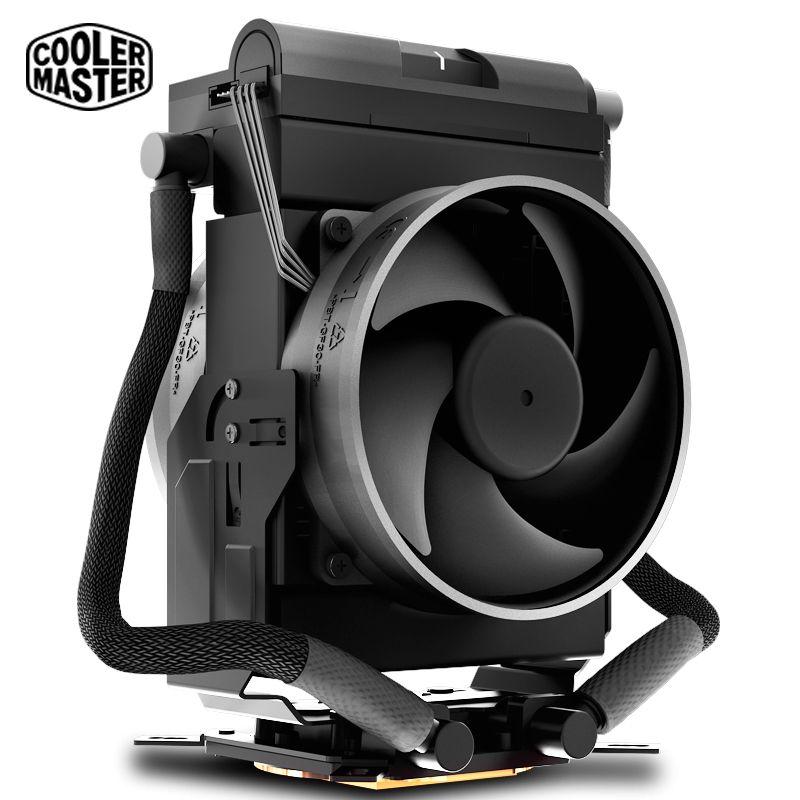Cooler Master MASTERLIQUID MAKER 92 wasser Kühlung CPU kühler Luft und Flüssigkeit Kompakte CPU lüfter Für Intel 2066 2011 115x