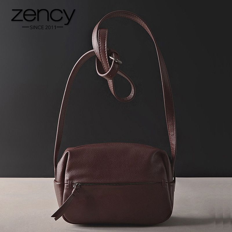 Guarantee 100% Italian Genuine Leather Women's Messenger High Quality Vintage Handbag Shoulder Bag Female Crossbody Soft Casual