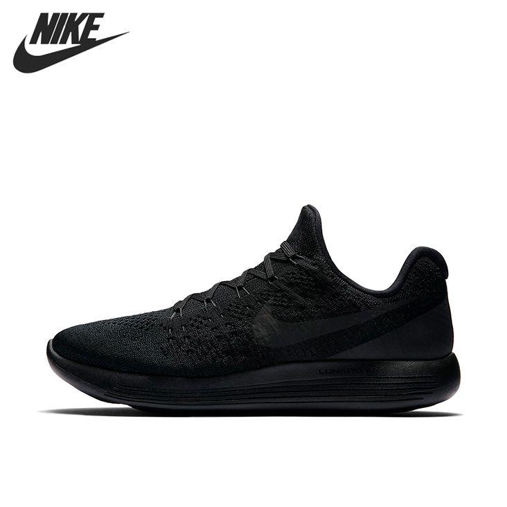 Оригинальный Новое поступление 2017 Nike lunarepic Low Flyknit 2 Для Мужчин's Кроссовки Спортивная обувь