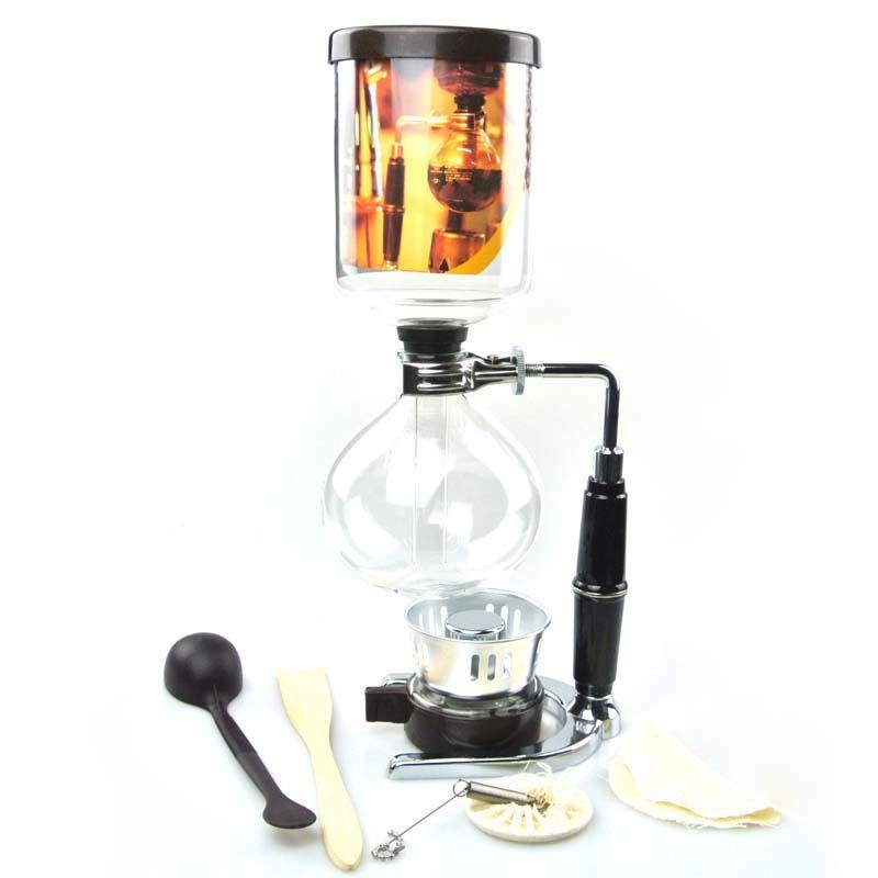 Высокое качество 5 чашек в японском стиле сифон кофеварка Syphon чайник Чай сифон горшок tca3 tca5 500 мл