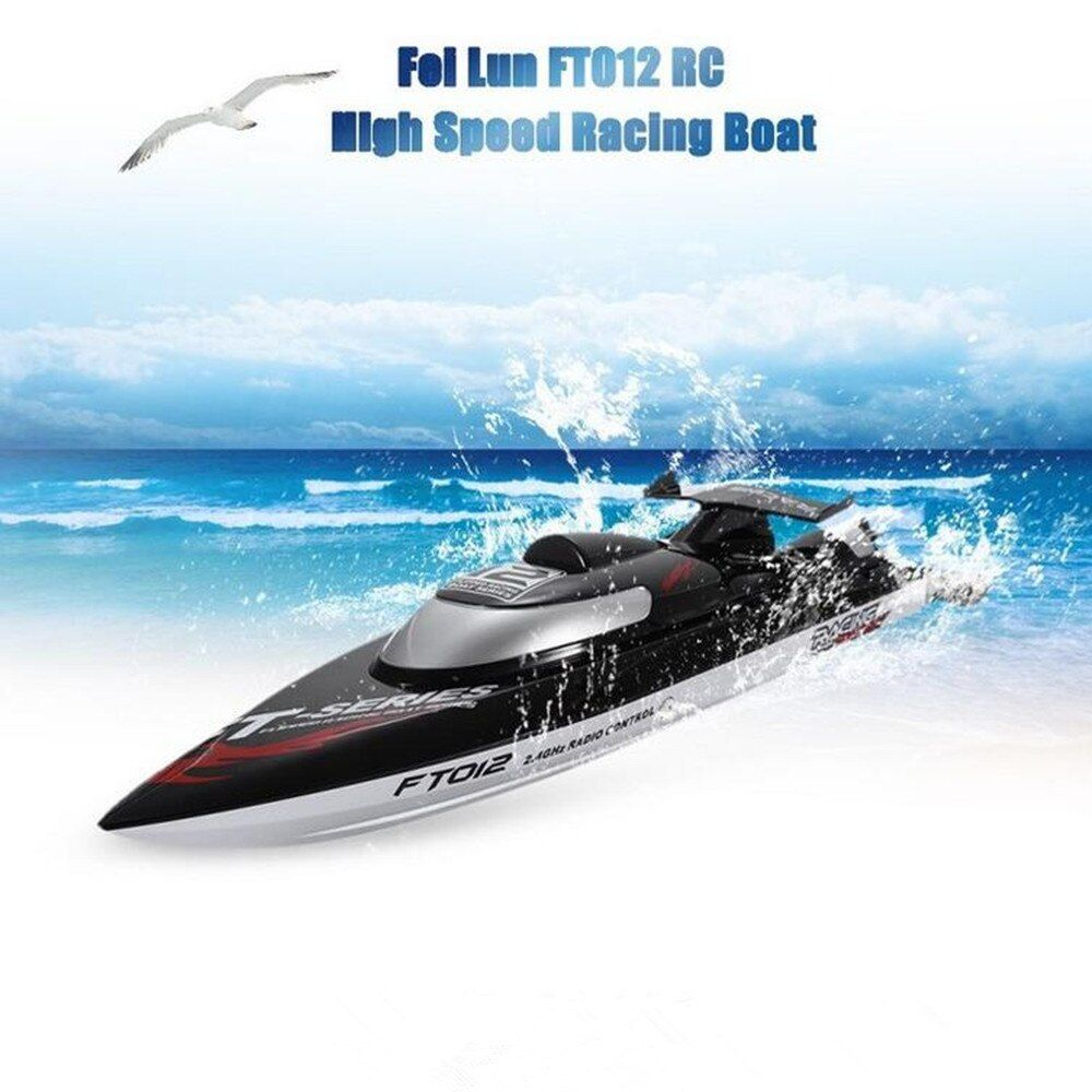 Fei Lun FT012 2.4G 4CH 45km/h Water Cooling System Anti-collision Fine Adjustment Gear Brushless Remote Control Racing Boats