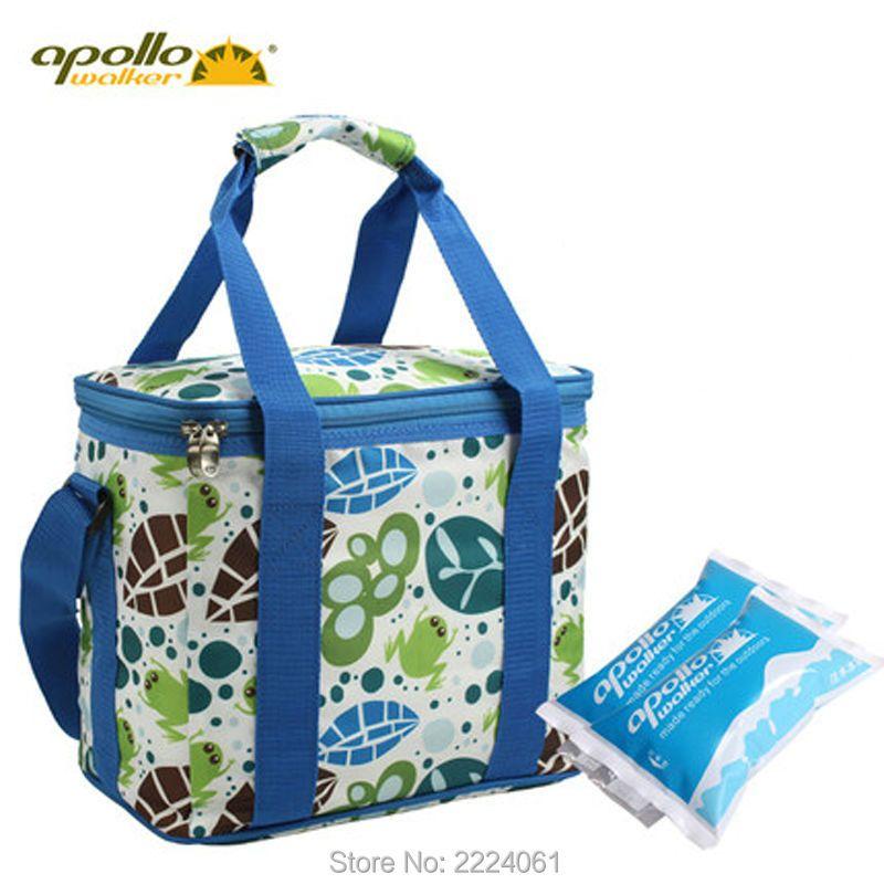 Apollo Customized cooler bag 12L Large volume aluminum foil thermal bag Oxfod 600D Pinic Food cold storage bag Lunch bag