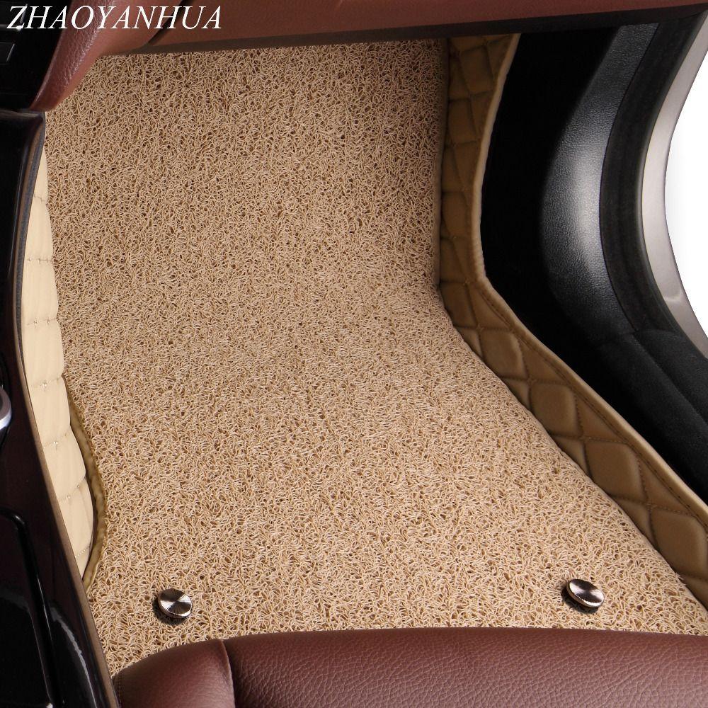 ZHAOYANHUA Car floor mats for Mercedes Benz X164 X166 GL GLS class 63 AMG 320 350 400 420 450 500 550 rugs carpet