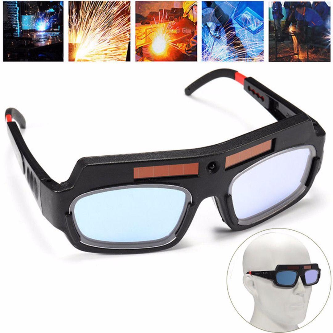 Solar Powered Auto Darkening Welding Mask Helmet Goggle Welder Glasses Arc PC <font><b>Lens</b></font> Great Goggles For Welding Protection Mayitr