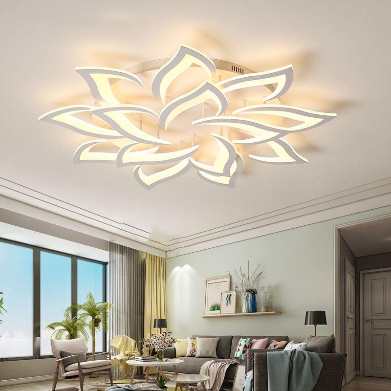 New led Chandelier For Living Room Bedroom Home lustre para sala AC85-265V Modern Led Ceiling Chandelier Lamp Fixtures lustre