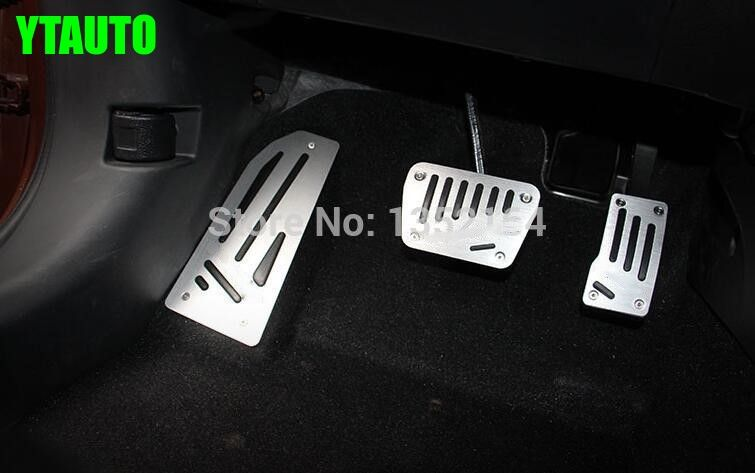 Car gas accelerator pedal, footrest and brake pedal for mitsubishi outlander 2013-2016,3pc/lot,free shipping