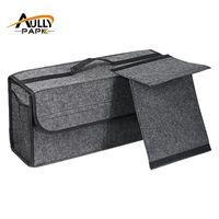 Автомобиль фетровая коробка для хранения багажник сумка автомобиля ящик для инструментов Мульти-Применение Инструменты Органайзер сумка ...